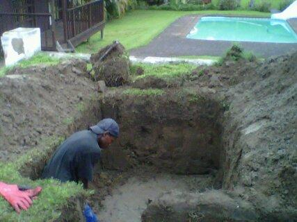 Septic tanks drains and sewer services in durban and on for How to build a septic tank